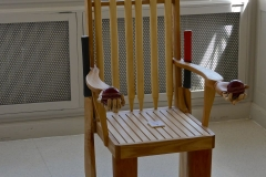 Angela Burnett - 1. Cricket chair 803