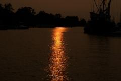 gerry boretta - 3-smokey sunset on the river