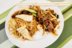 Francis-House-Chow-Mein-Green-Onions-Ginger-Beef