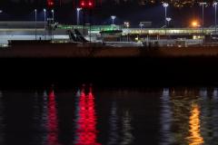Paul-Rennie-Westjet-depot-at-night